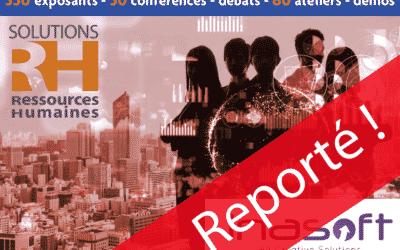 Le Salon «Solutions Ressources Humaines» 2020 est reporté au 26, 27 et 28 mai prochain